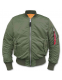 Куртка летная Alpha Industries MA-1 Bomber Jacket Sage Green