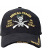 "Бейсболка Rothco Deluxe ""Special Forces"" Profile Cap Black"