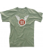 "Футболка Rothco Vintage ""11th Airborne"" T-Shirt Olive"